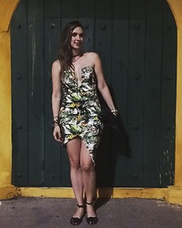 Marcela Perez - Forever 21 Dress - Look Cartagena