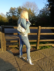 Alice Liddell - Boohoo Jeans, Truffle Mirror Boots - The Silver Lining