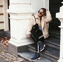 Fashiontwinstinct - Zara Pants, Toms Boots, Gucci Bag - Cozy Times.