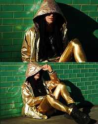 Milex X - Zaful Jacket, Kapow Meggins Pants, Raven Blakk Sweatshirt - MORE GOLD