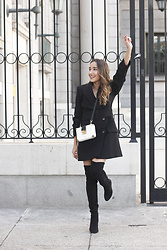 Besugarandspice FV - Zara Dress, Mango Boots - Blazer dress