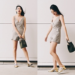 Joy Li - Target Bucket Bag, Zara Block Heel - Overall