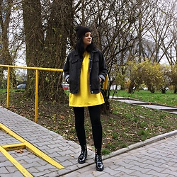 Natalia Pawlik - Romwe Blouse, Romwe Jacket, Shein Pants, Fashion71 Shoes - MAKE YOURSELF