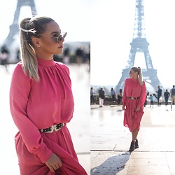 KEENAH Mljac - H&M Dress - Pink in Paris*