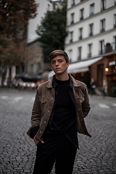 Georg Mallner - Weekday Jacket, Zara Shirt, H&M Tshirt, Asos Pants - November 12, 2017