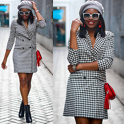 Monica Awe-Etuk -  - AWED BY MONICA: HOW TO NAIL THE BLAZER DRESS TREND