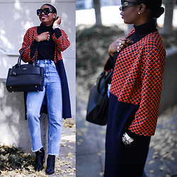 Monica Awe-Etuk -  - AWED BY MONICA: A LONG JACKET THAT WILL MAKE YOUR OUTFIT CHI
