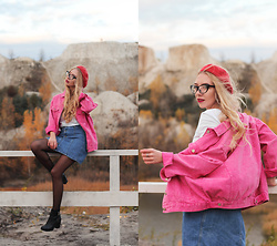 Lena - Fuchsia Jacket - Don't afraid of bright colors!