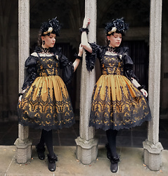Liv Robroek - Haenuli Promise Of The Eternal - OTT Gothic Lolita Fashion Coord