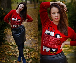 Drew - F&F Sweater, Spartoo Shoes - Christmas is coming