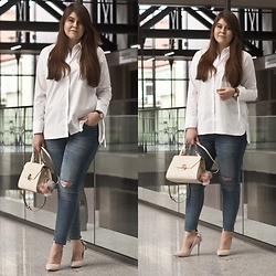 Feather P - Answear Shirts, Stradivarius Jeans, Aldo Bag, Daniel Wellington Watches - Answear