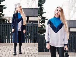 Lisa - Zaful Sweater, Zaful Coat - The end of November
