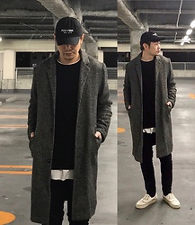 ★masaki★ - Kollaps Post Punk, H&M Over Coat, Neuw Denim Jeans, Vans Marc Jacobs - ♪ポストパンク♪