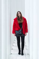Andrea Funk / andysparkles.de - Sassyclassy Jacket - The Red Fur Jacket