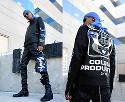 Dominic Grizzelle - Bloodbrother Biker Jacket, H&M Faux Leather Pants, Shoe The Bear Tuco - RUFF RYDERS