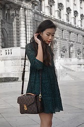Claudia-Kate AY - Zara Earrings, Louis Vuitton Bag - Stay humble x