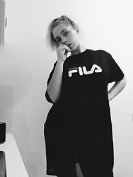 ItsAmberLife Ju - Fila Dress - Fila