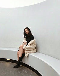Tiffany Wang - H&M Teddy Coat - TEDDY COAT