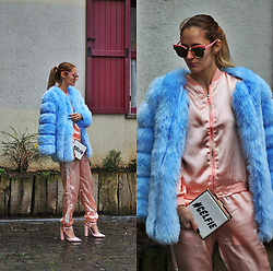 Ruxandra Ioana - Rosegal Sports Suit, Lightinthebox Coat - Cheer up