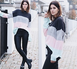 Nina Wirths - Asos Sweater, Noisy May Jeans, Asos Boots - Pastellover