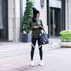 viaSWEAT - Viasweat Ren Silver - Winter athleisure look
