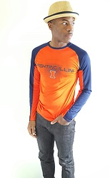 Thomas G - Knights Apparel University Of Illinois Fighting Illini, Levi's® 511 Strauss & Co, David And Young Stingy Brim Fedora, Author At Virily, Website: Heart Of The Midwest - Illini Pride