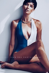 Katya Shay - K Bella Swim One Piece Swimwear - One morning