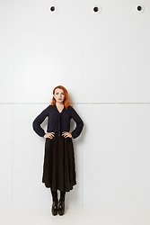 Catherine Black - Lidl By Heidi Klum, Retro Classic Black Skirt, Mixer Lack High Heels, Retro Warm Stockings - The Modernist