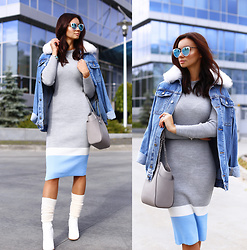 Anna Mour ♥ -  - Oversized denim jacket