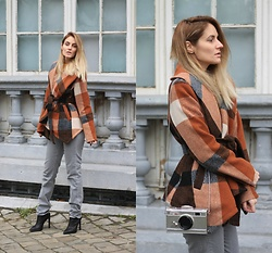 Ruxandra Ioana - Zaful Coat, Jeffrey Campbell Shoes Booties - Just imagine...
