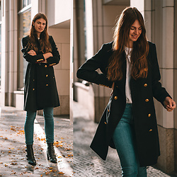 Jacky - Superdry Coat, Gant Jeans -  How to wear a military style coat