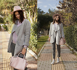 Viktoriya Sener - Shein Cardigan - GREY IN DECEMBER