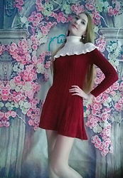 Roksa - Vipshop Dress - Winter warm dress