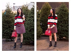 Lisa Valerie Morgan - Tommy Hilfiger Boots, Storets Skirt, Christian Dior Bag - The Night Before Christmas