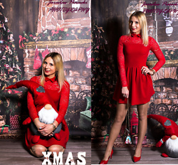 Sandra Kozłowska - Ola Voga Dress - Christmas dress