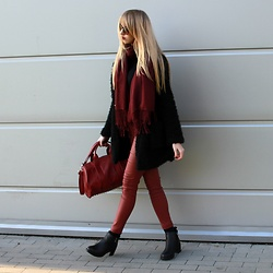 Diane Fashion -  - Burgundy look
