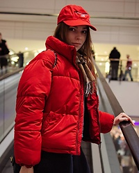 Julita B -  - Red jacket and cap