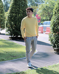 Paul Riyadh Chuapoco - Zara Shirt, Zara Cropped Chinos, Converse X Play By Cdg Sneakers - 01012018