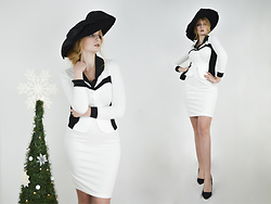 Milady Sandy - Zaful Retro Hat, Fashion Mia Bodycon Dress - MCH #2