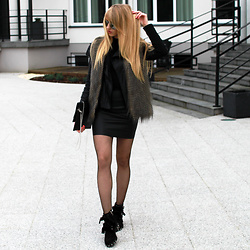 Diane Fashion -  - Black total look