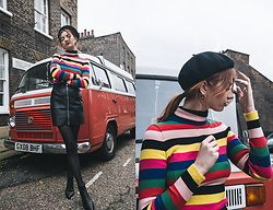 Hannah Louise - Rainbow Stripe Jumper - Rainbow Stripes