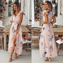 Hello Molly Love -  - Morning And Noon Maxi Dress