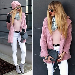 Diane Fashion -  - Pink fur and grey details ♡