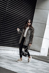 Flaunt and Center - Leopard Coat - Trend report - The Leopard Coat