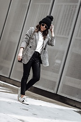 Flaunt and Center - Blazer - Check print