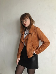 Kristina Magdalina - Zaful Jacket - Brown jacket