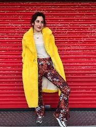 Steffy&Elina - Mango Coat, Monki Shirt, Nasty Gal Trousers, Zara Shoes - Took My New Trousers Out