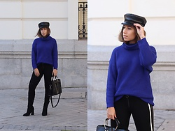 Claudia Villanueva - Zara Cap, Zaful Turtleneck, Zara Leggings, Sammydress Bag, Zaful Boots - The most popular trends in 2018