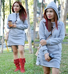 Julie Lozada - Fashionmia Dress Hoodie - Cold Wind