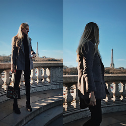 Eleonore Marie Stifter - Gucci Bag - Paris always in my heart